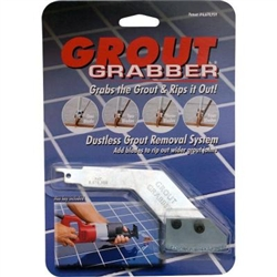 The Grout Grabber Dustless Grout Removal System Is A