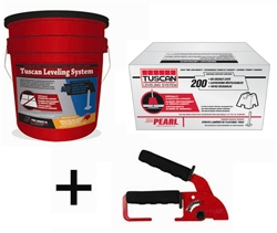Tuscan Leveling System 200 Caps Amp 500 Straps Free Shipping